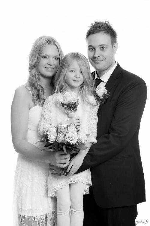 Nyman bröllopsfoto