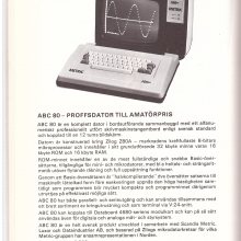 Scandia Metric ABC 80 1978