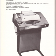 Scandia Metric Teletype 1978