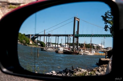 2 Spegling av Älvsborgbron