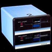 Micropolis diskettenhet 2x 351 KB med 5 tums disketter