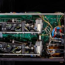 Motorerna för att driva diskett-läsarna