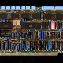 Moderkort med Z80 och seriella kontakter