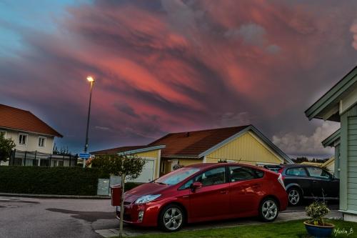 Åskoväder över Torslanda