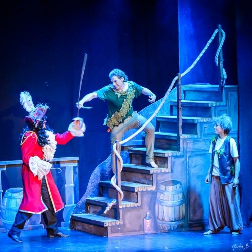 Peter Pan, Tåget
