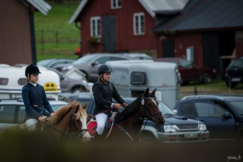 Hästhopp på Fjärås Ryttarförening