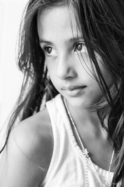 Ung flicka