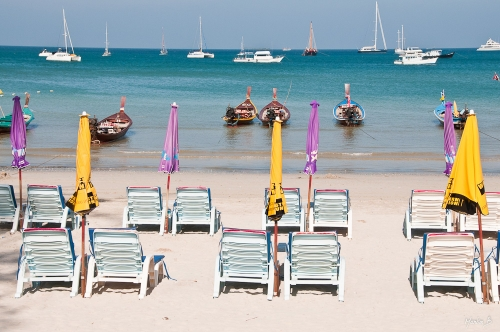 Strand, Thailand, Martin Bergström, Lavendelfoto