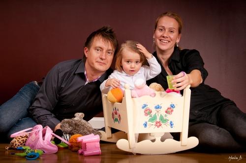 Helena, Karin och Thomas